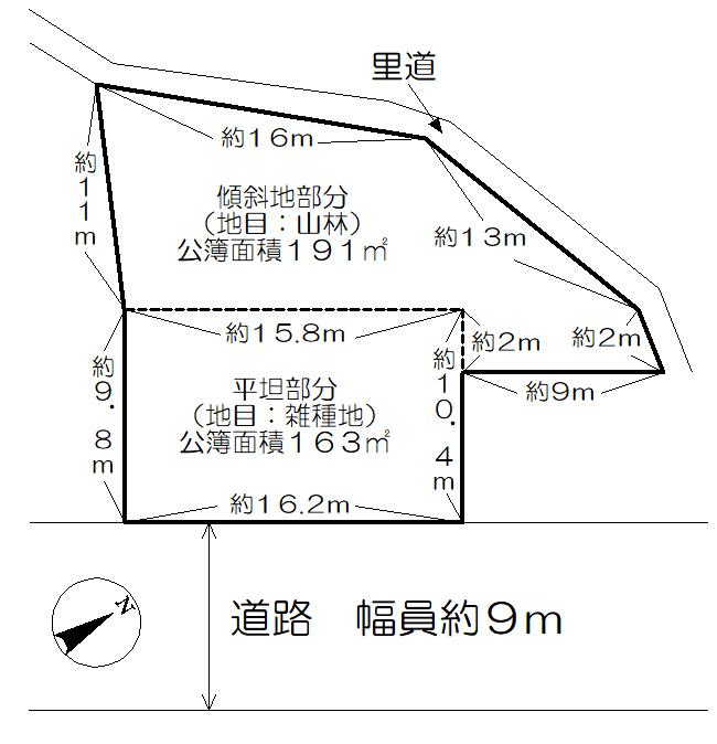 土地図面 吉野山