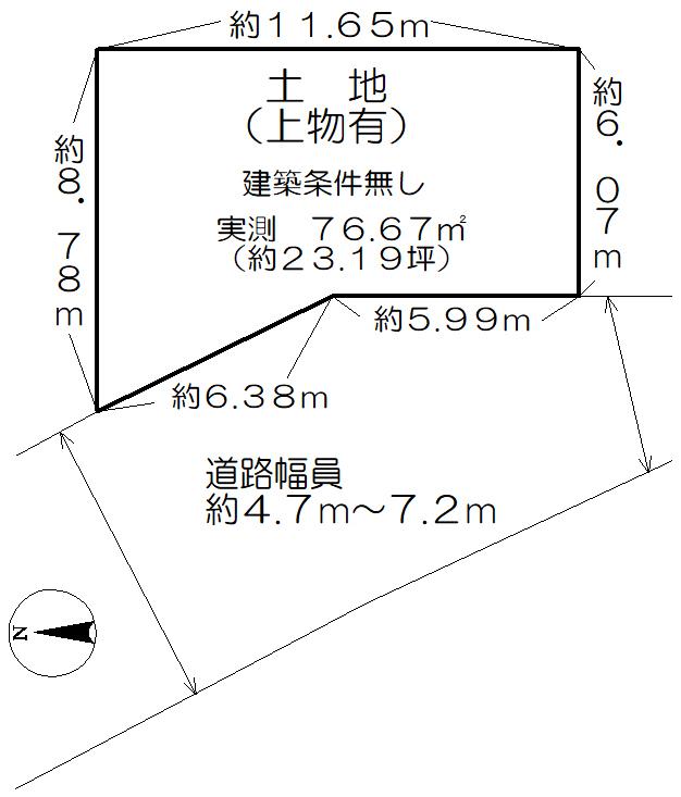 小綱町 土地図面