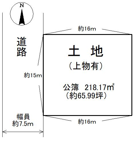 土地平面図 50-3+50-6